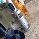 API 526 Afblaasklep van de Veiligheid van de Bonnet van de Opening de Ontwerp Gesloten Roestvrij staal Van een flens voorzien Voor de Vloeistof van de Stoom