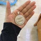 les plus défunts modèles de pendant de pièce de monnaie de partie de Jésus d'or pour les hommes Mjhp166