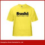 T-shirt bon marché personnalisé d'hommes de logo personnel d'impression pour les hommes (R161)