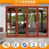 Puerta deslizante de aluminio con la variedad de diseño