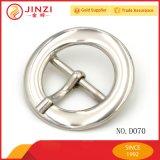 Usine de haute qualité personnalisée de gros de forme ronde de la boucle de ceinture
