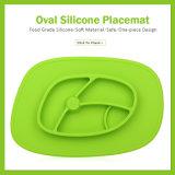 Het Silicone die van de Rang van het voedsel Placemat voor Babys voeden