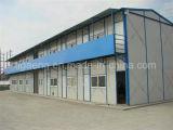 Helle Stahlrahmen-preiswerte vorfabrizierte Häuser für Verkauf von China
