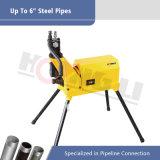 """machine de découpage hydraulique de cannelure de la pipe 550W pour """" la pipe de l'acier inoxydable 6 (YG6C-A)"""