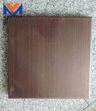 Panneau composé en aluminium de surface en bois de type