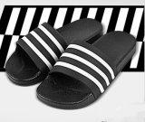 Banho de PVC /fora da sapata da Porta Deslizante /Fashin /da peneira da sapata de Zebra Preto e Branco