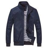 Mens casual de vestuário exterior Windbreaker Bombardeiro leve casacos casacos