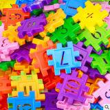 Blocos Padrão de dígitos de brinquedos educativos para Intelligence