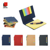 Kundenspezifischer klebriger Auflage-Papier-Notizbuch-Briefpapier-Notizblock der Anmerkungs-2017