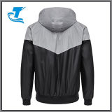 Der Männer Outwear 3m den reflektierenden Zippered mit Kapuze Windbreaker