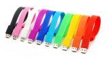 중국 승진 실리콘 팔찌 16GB USB 디스크 섬광 드라이브