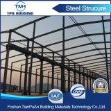 Workshop d'acciaio chiaro pronto prefabbricato acquistabile