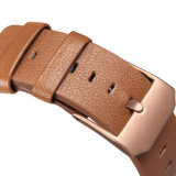 23mm heiße echtes Leder-Uhrenarmband-Brücke für Fitbit Flamme mit Rahmen