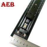 53mm 폭 무거운 기구 슬라이더 가구 이음쇠 망원경 서랍 채널
