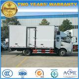Dongfengは6つの車輪6トンの貨物自動車のトラックをトラック冷却装置冷やした