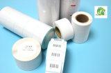 Roulis adhésif de papier thermosensible de fournisseur de la Chine pour l'impression d'étiquette