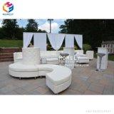Tissu de meubles de mariage canapé /S forme moderne de forme en U Canapé-lit cum