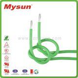 UL flexível de silicone de alta temperatura do fio do cabo eléctrico de Fios Elétricos