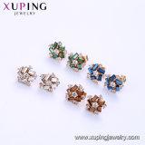 Таким образом в форме квадрата Xuping кристаллов с золотым покрытием Swarovski итальянский золотые шпильки Earring