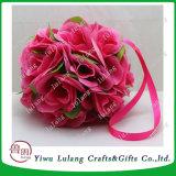 최신 판매 다른 크기 실크 형식 로즈 꽃 공 를 위한