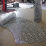 Nastro trasportatore della rete metallica guidato della catena dell'acciaio inossidabile
