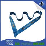 La cinta impresa venta al por mayor de la medalla con crea insignia para requisitos particulares