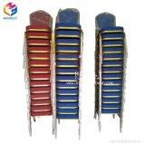 Bequemes gute Qualitätsstapelbares Metallhotel preiswerte Prcie Bankett-Stühle