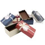 보석 서류상 선물 포장 상자, 전시 보석을%s 주문 크기 상자