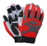 Амортизирующей планки Ударопрочный механическая безопасность рабочие перчатки с TPR