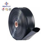 Boyau flexible de débit de Layflat d'irrigation de PVC de 6 pouces