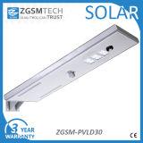 Imperméable IP65 30W Induction tous dans une rue lumière solaire