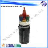 Isolação à prova de fogo do PVC e cabo elétrico seguro da bainha