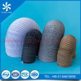 Conduit/boyau enduits de silicone de tissu de tissu de Combi avec l'aluminium