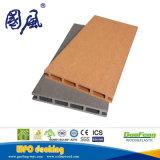 Panneau composé de plastique en bois de Decking de la cavité WPC