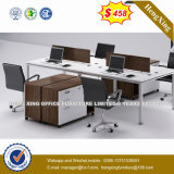 Laminated Office Furniture L Shape Workstation Office Partition (HX-PT14024)