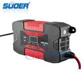 Carregador de bateria automático do carro solar de Suoer 12V 10A com Ce (SON-1210CE)