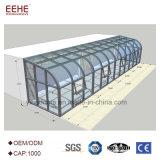 Châssis en aluminium de l'environnement Eco solarium pour villa haut de gamme