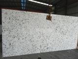 Café branco V125-Lajes Lajes de quartzo&Ladrilhos em quartzo fachada-&Bancada