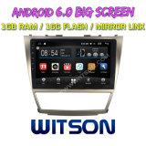 """Witson 10.2 """" Toyota 고전 Camry를 위한 큰 스크린 인조 인간 6.0 차 DVD"""
