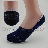 Las mujeres señoras Antiskid algodón invisibles No Show Low Cut Sock