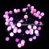 Mllky Kugel-Beleuchtung-Stufen-Luftblasen-Zeichenketten für Partei-Dekoration