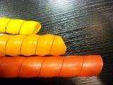 En PVC résistant à l'usure du manchon protecteur de tuyau flexible