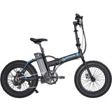 """20 """" fetter Gummireifen 250W, der elektrisches Fahrrad 36V faltet"""