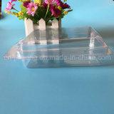 Quadratische Blasen-Verpackung für Befestigungsteile zerteilt Maschinenhälften-Blasen-Verpackungs-Kasten