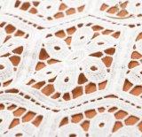 最新のファッションの装飾的なビーズの真珠のネットのレースファブリック