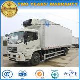 Le cadre frigorifié par roues de Dongfeng 6 10 tonnes de nourriture régénèrent le camion