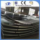 El cinc cubrió la hoja de acero galvanizada metal del material para techos de los materiales de construcción