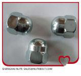Acier inoxydable 304 316 noix Hex DIN1587 M27 de dôme de chapeau