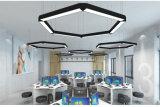 Lámpara linear del colgante LED de Quadrate para la iluminación comercial