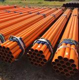 Revestido a epóxi anticorrosivo resíduos explosivos de tubos de aço